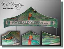 emerald tent small